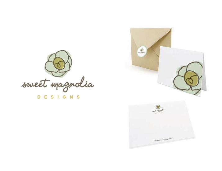 Sweet Magnolia Design logo