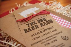 BBQ Barn Bash Ivitations