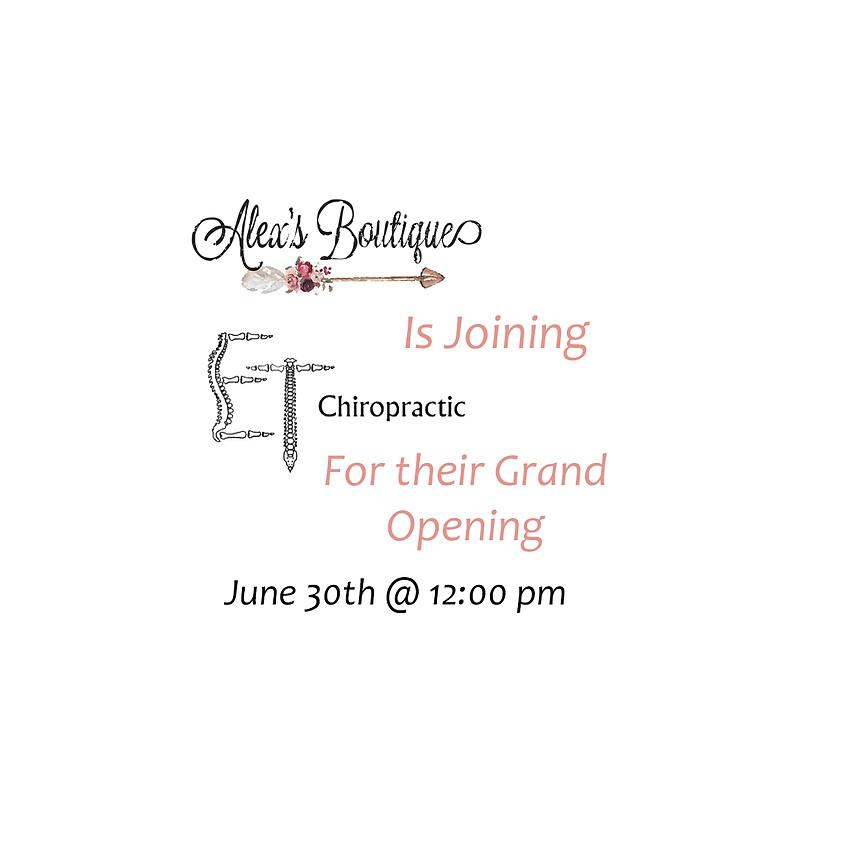 Celebrate ET Chiropractic's Grand Opening!
