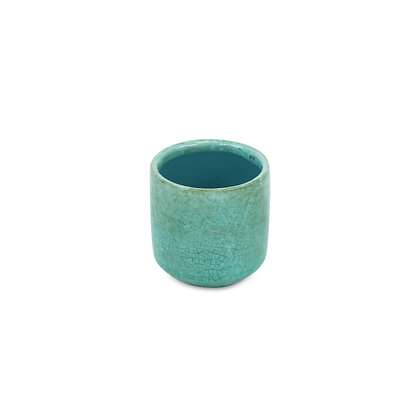 Green Mosaic Planter with Mosaic Patter by Cheungs