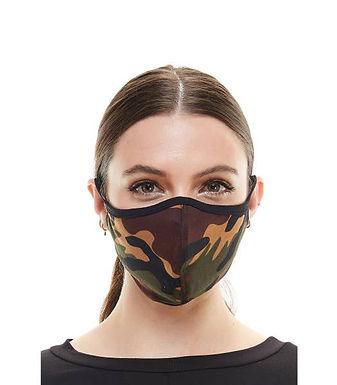 Miley & Molly Camo Face Mask