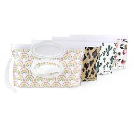 Take & Travel Pouch Reusable Wipes Case by Itzy Ritzy