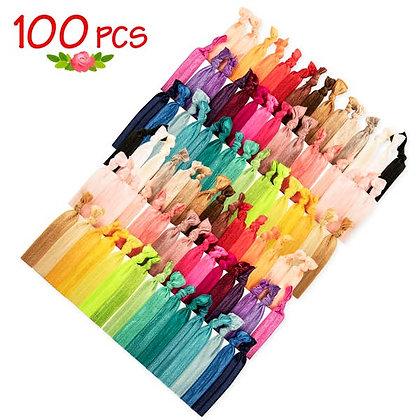 JLIKA 100 Elastic Hair Ties