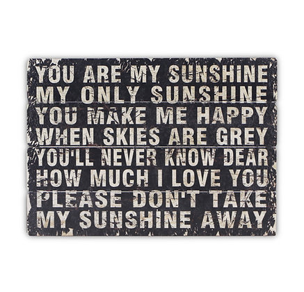 You Are My Sunshine by Cheungs