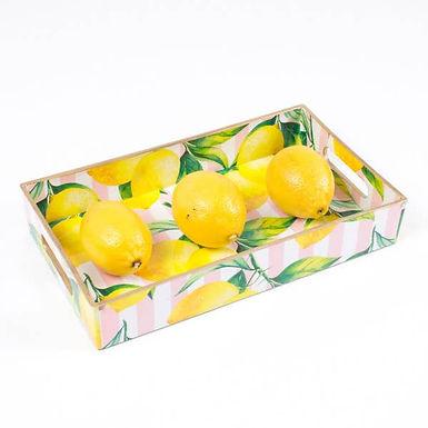 Lemon Utensil Tray by 8 Oak Lane