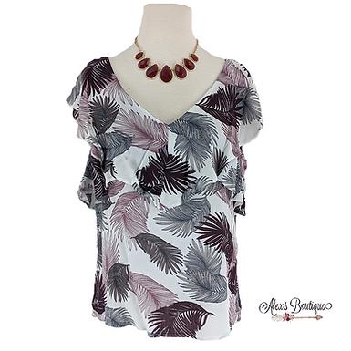 Laura Palm Leaf Shirt
