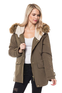 Jacket with Removable Hood