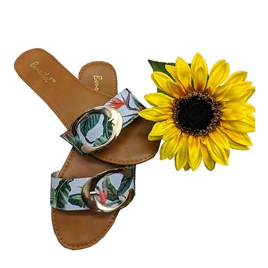 Paradise Slide-On Sandals