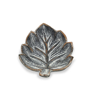 Cast Iron Leaf with Bronze Edge  by Cheungs