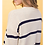 Thumbnail: Linda Navy Striped Cardigan