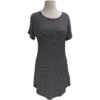 LANI Striped T-shirt Dress