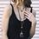 Thumbnail: Bohemian Four Layer Stone & Shell Necklace