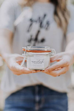 Farmhouse Fresh Apple Scented Soy Candle by Saved by Grace