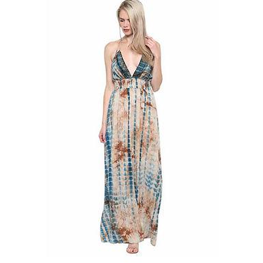 Cancun Halter Maxi Dress by Illa Illa