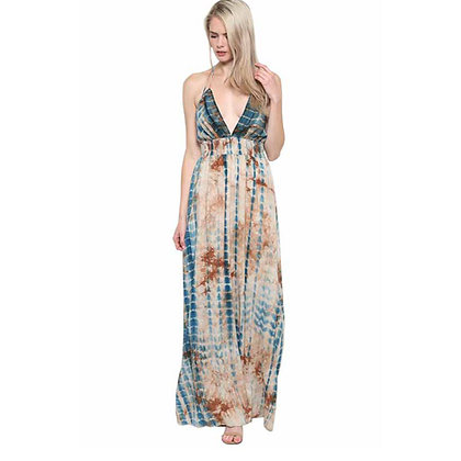 Cancun Halter Maxi Dress by Illa Illa