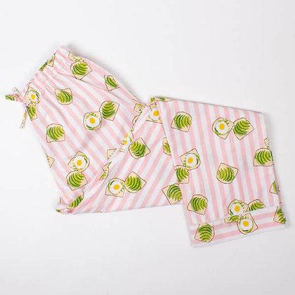 8 Oak Lane Avocado Toast Pajama Pant