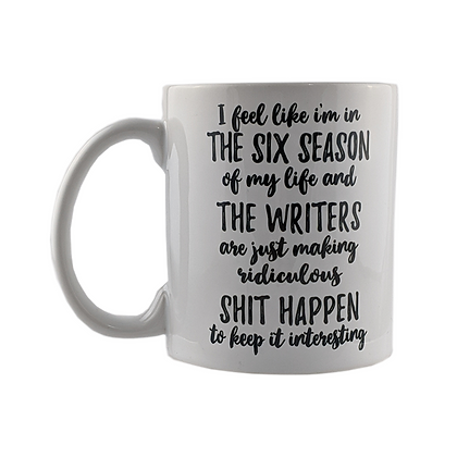 Six Seasons of Life Mug