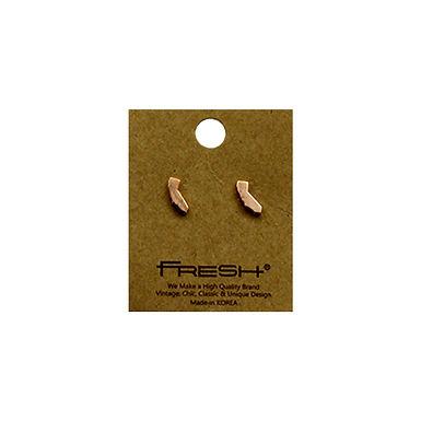 State of California (CA) Earrings - Rose Gold