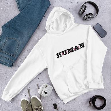 Being Human | Human Being White Hoody