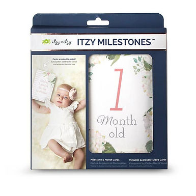 Itzy Ritzy Double-Sided Milestone Cards