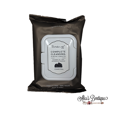 Creme Charcoal Make-Up Remover Cleansing Tissues