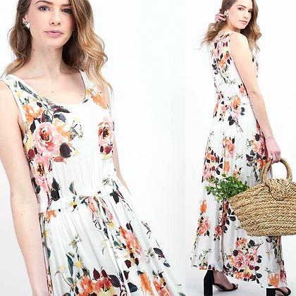 Mia Floral Maxi Dress