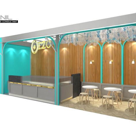 Interior View - EZO CHEESECAKES Bakery Mall Kelapa Gading