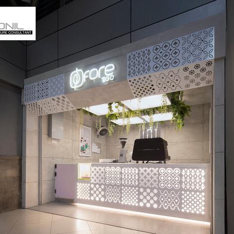 Interior view - FORE COFFEE Stasiun Sudirman