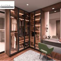 Master Closet Interior View - Residence Sunter Hijau
