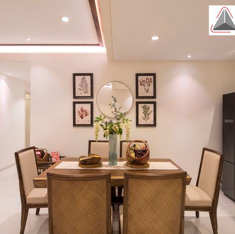 Dining Area Interior View - Regatta Apartment