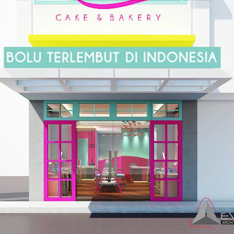 Exterior View - ADORALEZAT Bakery Gajah Mada
