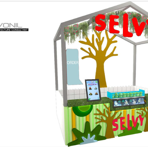 SELVY Guava Booth - Green Sedayu Mall