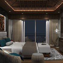 Master Bedroom Interior View - Residence Jatiwaringin