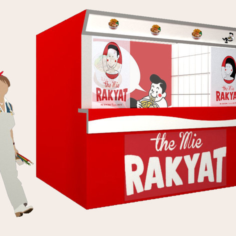 THE MIE RAKYAT Booth - EVONIL Architecture