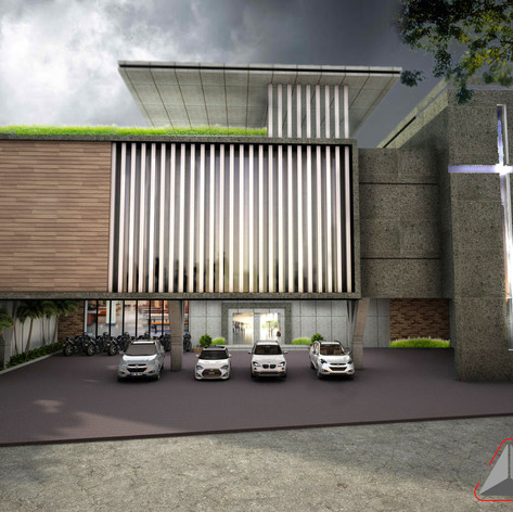 Exterior View - GBIS Church Balikpapan