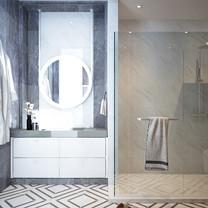 Master Bathroom Interior View - Residence Grisenda