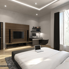 Master Bedroom View - Residence Pluit Timur
