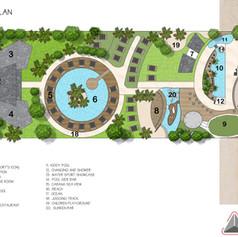 Master Plan - Resort Temaju