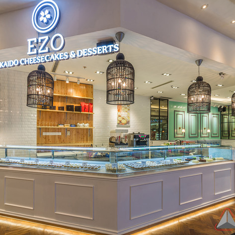 Interior view - EZO CHEESECAKES Bakery Mall Taman Anggrek