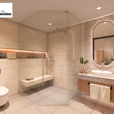 Master Bathroom Interior View - Residence Sunter Hijau