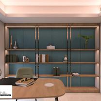 Study Room Interior View - Residence Sunter Hijau
