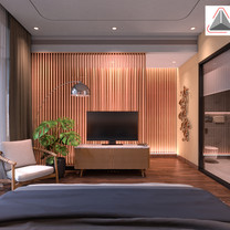 Master Bedroom Interior View - Residence Sunter Hijau