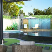 Pool Interior View - Residence Jatiwaringin