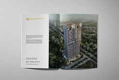 Properity Residence The Lotus Branding Logo Graphic Design Evonil Architecture Puri CBD Design Designer Jakarta Indonesia Consultant