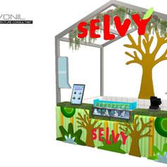 SELVY Guava Booth - Green Sedayu Mall
