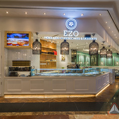 Interior view - EZO CHEESECAKES Bakery Mall Tama
