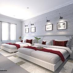 Guest Bedroom - Villa Gunung Geulis
