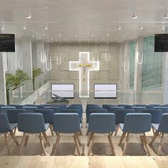 Interior View - GBI Karunia Church Kebayoran