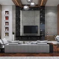 Living Room View - Residence Pangkalan Bun