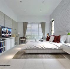 Master Bedroom - Villa Gunung Geulis